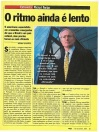 """Interview with Michael Porter: """"The rhythm is still slow"""""""