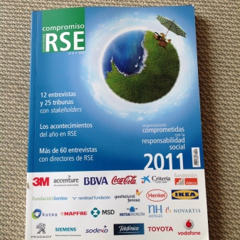 Two-page article at Compromiso RSE magazine - 2011