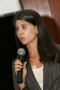 Leading a media training in Brazil (2007)