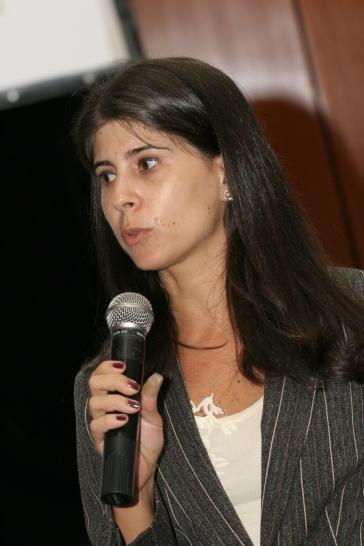 Leading a media training in Brazil (2007)
